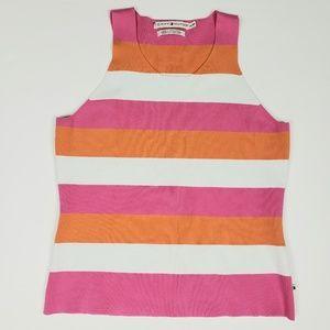 Tommy Hilfiger Striped Sweater Tank Top